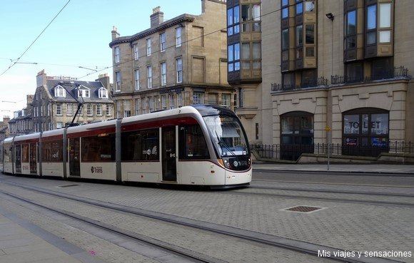 Tranvía, Edimburgo