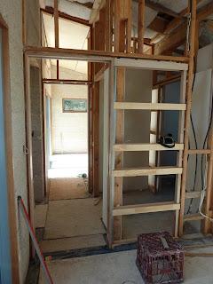 Culburra Hemp House Installing Cavity Sliding Doors
