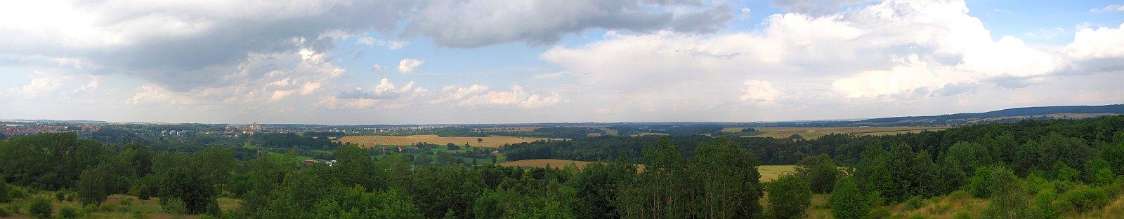 Panorama z Koziej Góry.