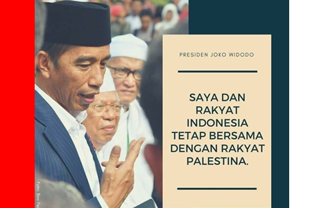 Indonesia Negara Pertama Kecam Yerusalem Ibu Kota Israel, Presiden Jokowi: Kita Konsisten Bersama Palestina