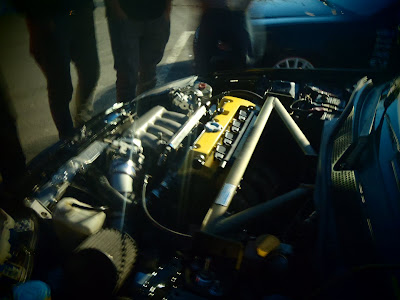 Modified Honda Civic Type R Engine