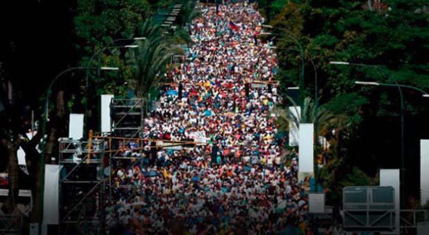 Ribuan Demonstran Venezuela Paksa Nicolás Maduro Lengser dari Kekuasaan