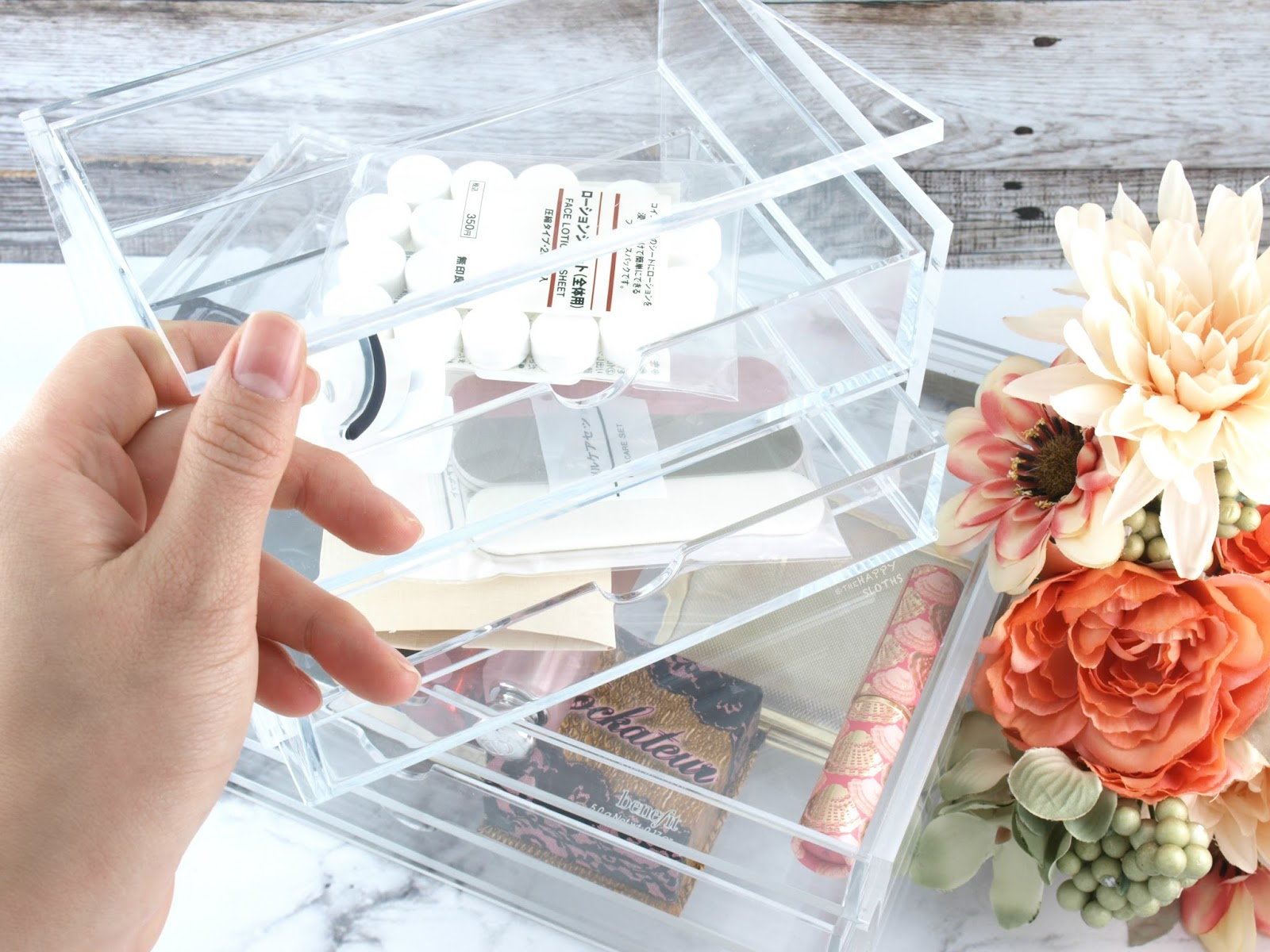 MUJI Acrylic Storage Review | Acrylic Case 2 Drawer & 3 Drawers