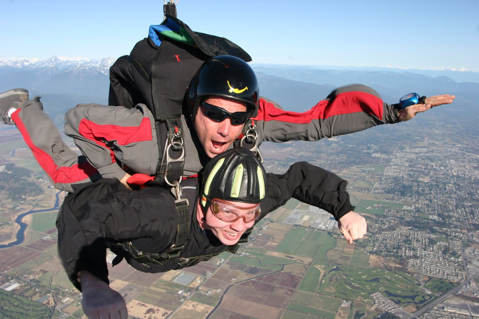 Jean-Pierre(J-P) FOREST, CPP: Dean Brassington Goes Skydiving