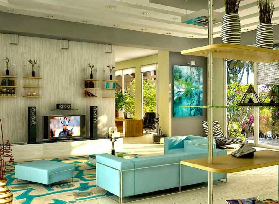 Foto Desain 3D Interior Rumah Minimalis Modern Sederhana 2015