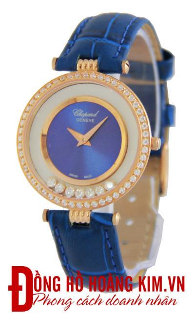 mua đồng hồ chopard nữ dây da