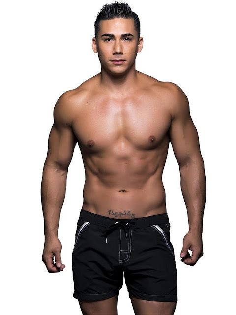 Black-Andrew-Christian-Atlantic-Swim-Shorts-Swimwear-Cool4guys-Online-Store