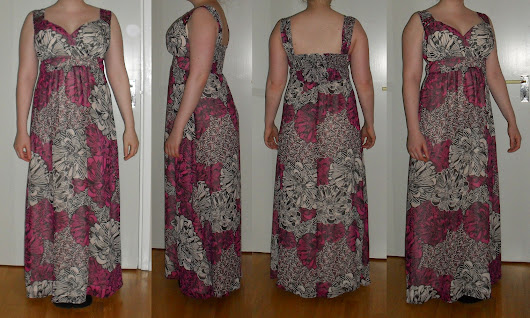 Pepperberry's Floral Embellished Maxi Dress