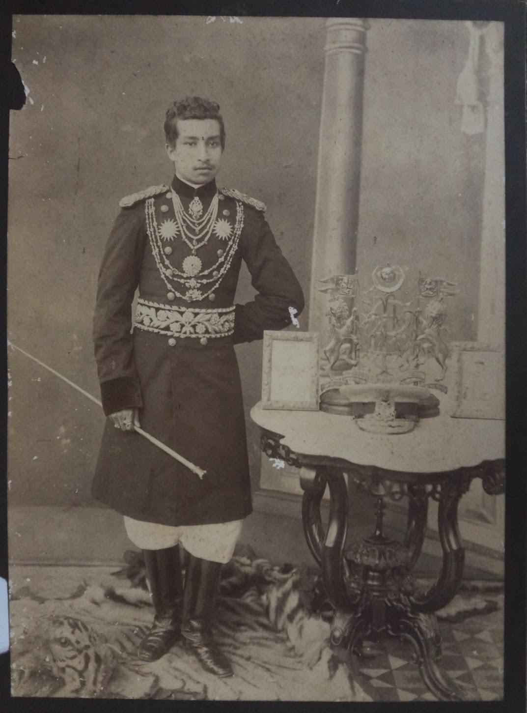 Vintage Photograph of a Nepal Prince
