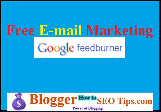 E-mail marketing, free e-mail marketing, feedburner
