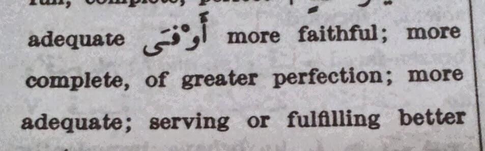 makna nama-nama islam aufa