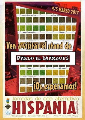 Stand Pablo El Marques en Hispania Wargames 2017