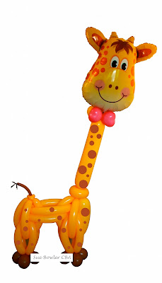 Jolly GIraffe by Sue Bowler CBA