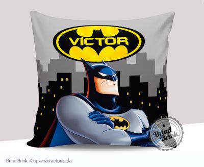 Almofada para lembrancinha Batman