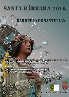 Santa Bárbara 2016 (Barruelo de Santullán)
