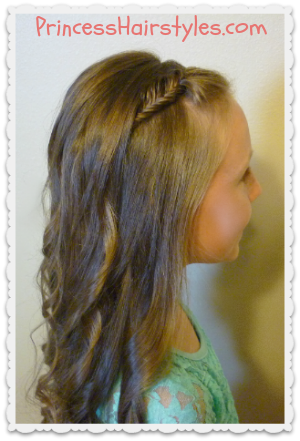Pleasant Picture Day Hairstyles Hairstyles For Girls Princess Hairstyles Short Hairstyles Gunalazisus