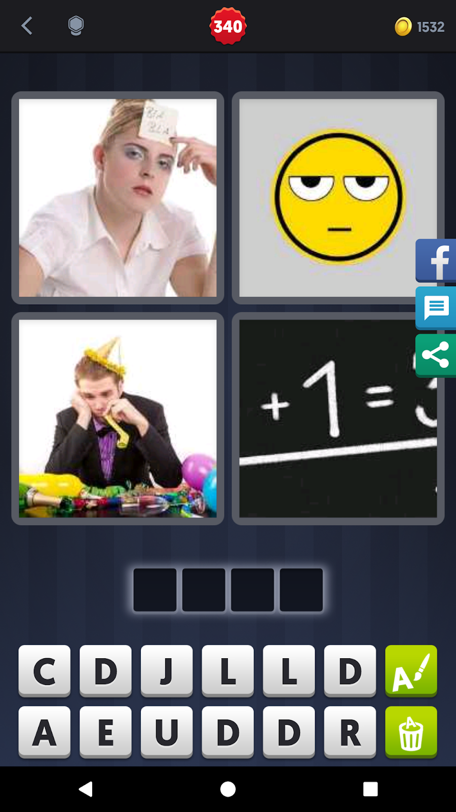4pics1word Answers 6 Letters