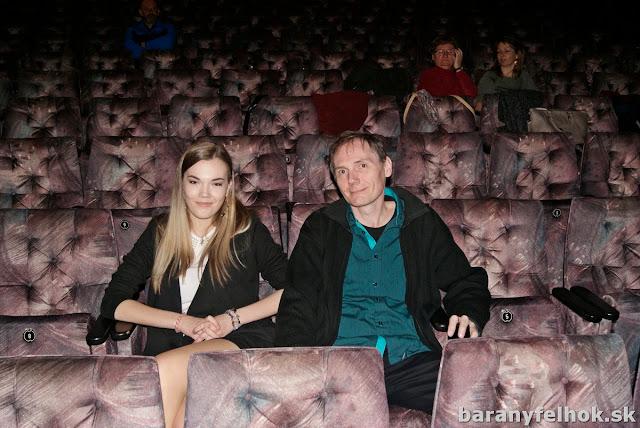 Göbő Anna és Göbő Sándor a nézőtéren