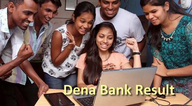 Dena Bank Result