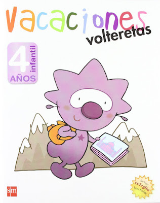 LIBRO - Vacaciones, volteretas : 4 años Infantil  (SM - 2016)  CUADERNO REPASO - VACACIONES - VERANO  Comprar en Amazon España