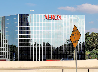 XEROX signage on office building - West Loop