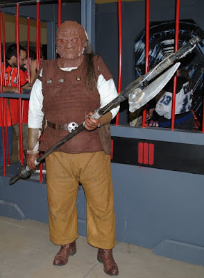 Weequay cosplay (of Capital City Garrison). Ottawa Comiccon 2016.