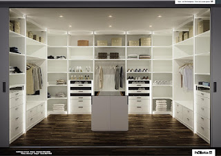 walk-in wardrobe Hulsta