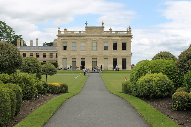 Brodsworth Hall gardens English Heritage Doncaster South Yorkshire