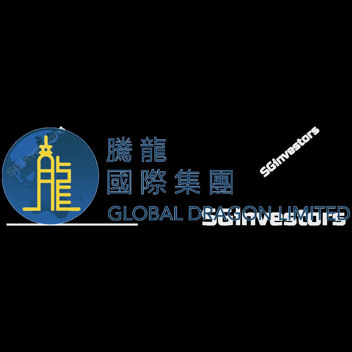 GLOBAL DRAGON LIMITED (SGX:586) @ SGinvestors.io