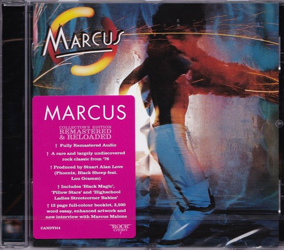 MARCUS - Marcus [Rock Candy remaster] (2016) full
