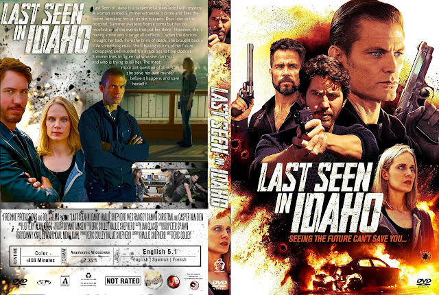 Last Seen In Idaho DVD Cover