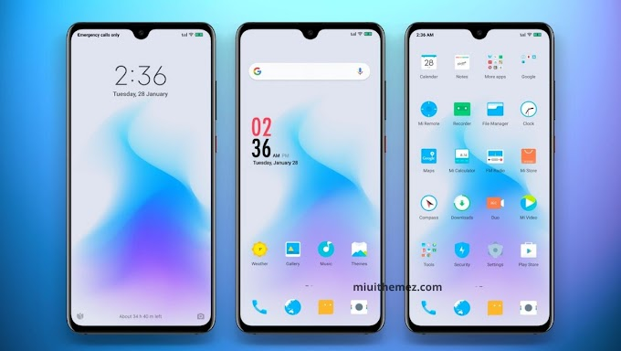 YOUNG FOREVER V11 MIUI Theme | Animated Icons | White Look