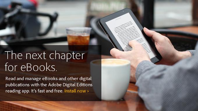 Adobe Digital Edition - To δωρεάν πρόγραμμα της Adobe, αποκλειστικά για ανάγνωση ηλεκτρονικών βιβλίων