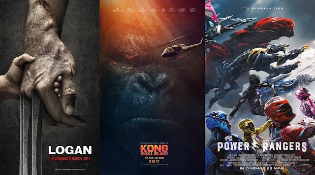 logan kong island power rangers march 2017 malaysia posters
