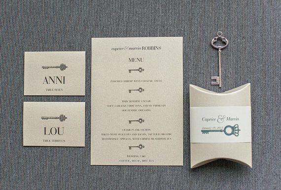 Invitación con llaves