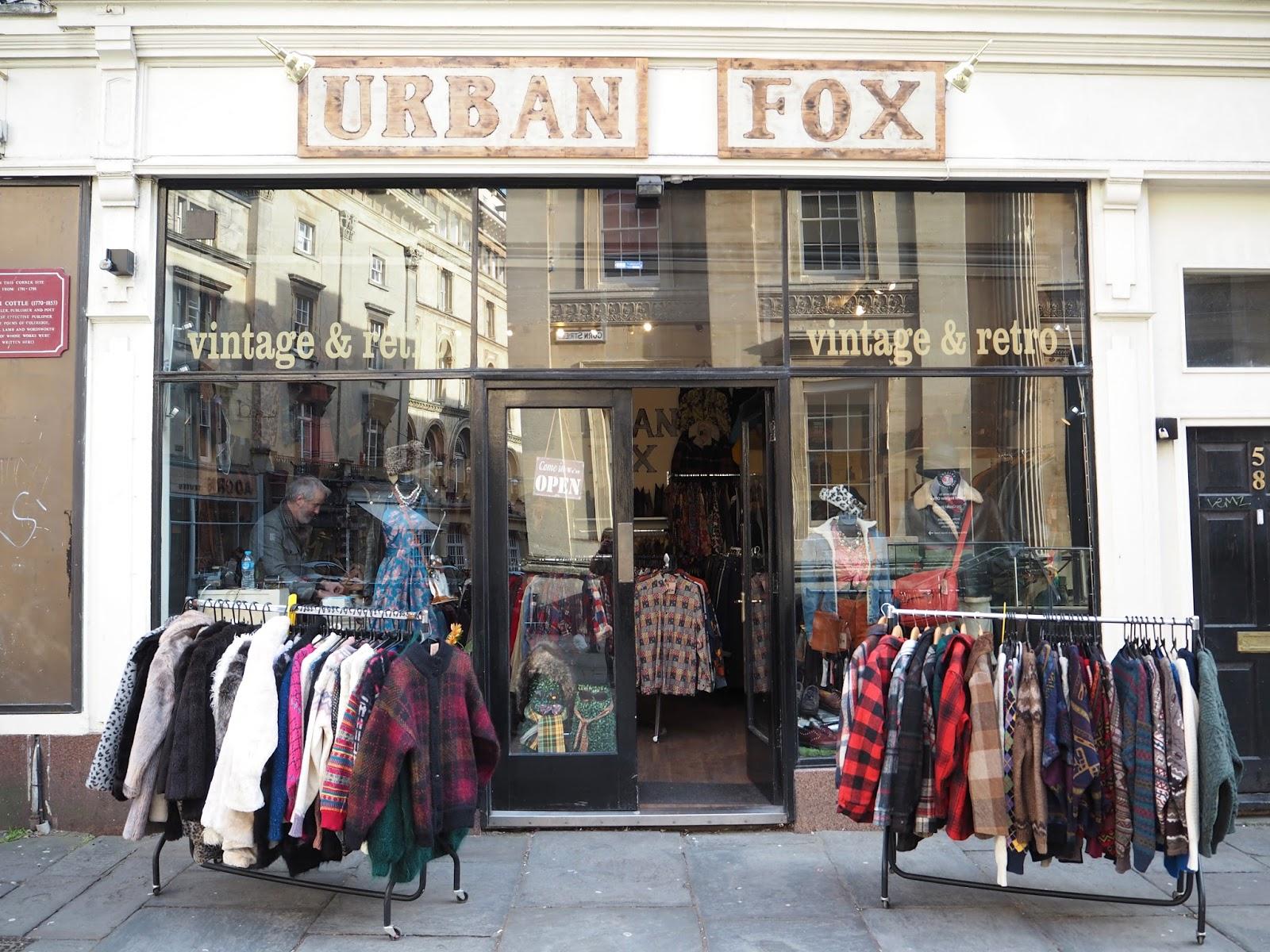 Urban Fox vintage shop Bristol