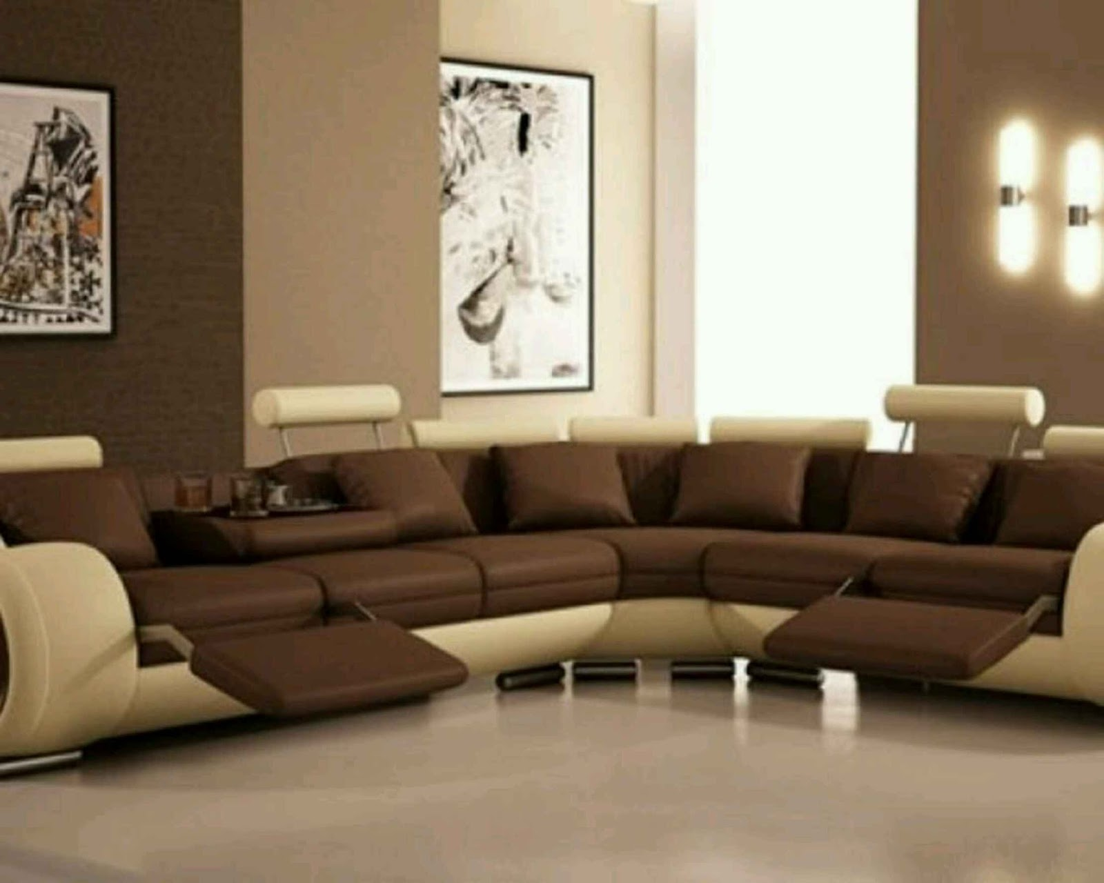 . Renovation World   Beautiful Sofa Set Designs with Great Color