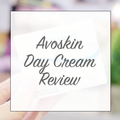 AVOSKIN DAY CREAM REVIEW