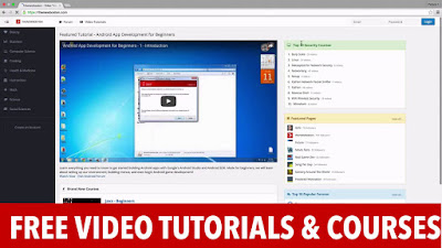 TheNewBoston – Free Video Tutorials and Courses