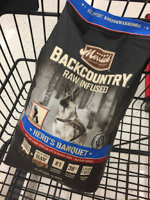Merrick's Hero's Banquet, available at Petco.