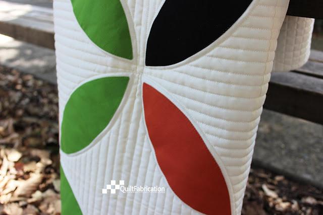 Seed Mix quilt closeup