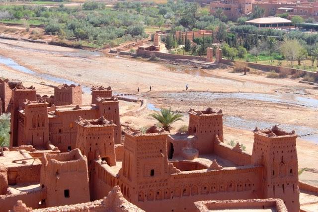 Ait-Ben-Haddou Ksar, Morocco