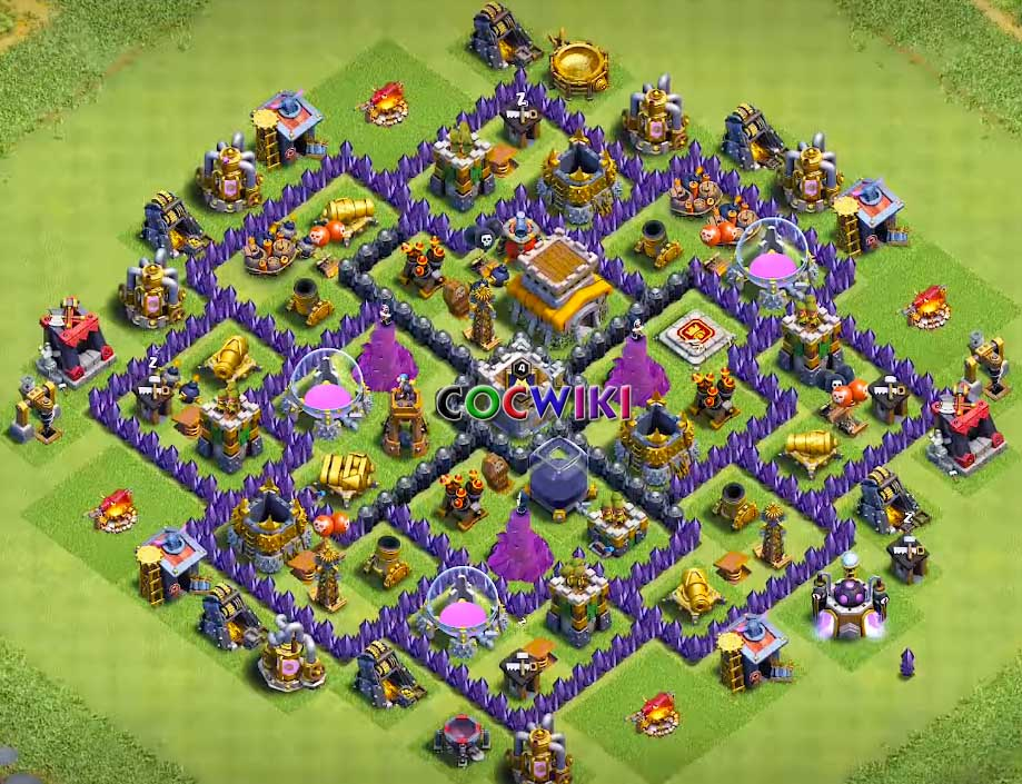 6 best th8 farming base designs 2019