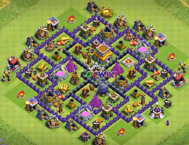 exceptional town hall 8 farming base design