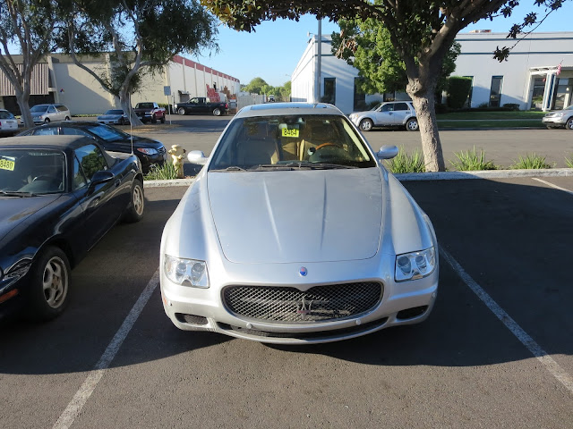Maserati Quattroporte repaired & painted at Almost Everything Auto Body