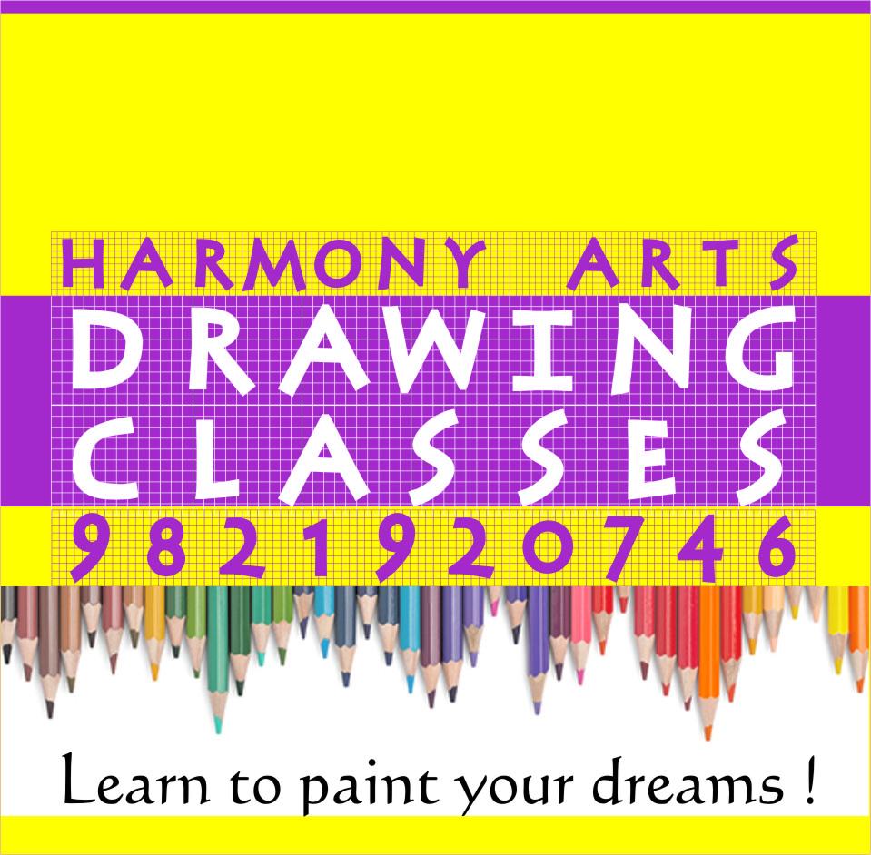 Harmony Arts Thane: Maharashtra Govt Drawing Grade Exam Time