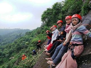 Taman Rancah Bukit Jimat Mendelem Pemalang, Wisata Ekstrem di Lereng Gunung Slamet