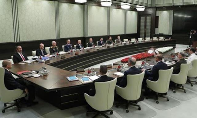 Τουρκία: Εκτακτη συνεδρίαση του Εθνικού Συμβουλίου Ασφαλείας