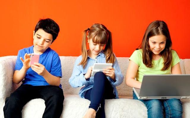 الآثار السلبية والايجابية  للتكنولوجيا على الأطفال