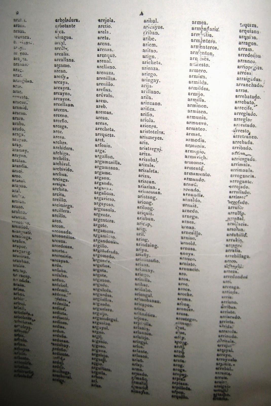 Filipino Genealogy Project: Genealogy Question #1: List of Surnames